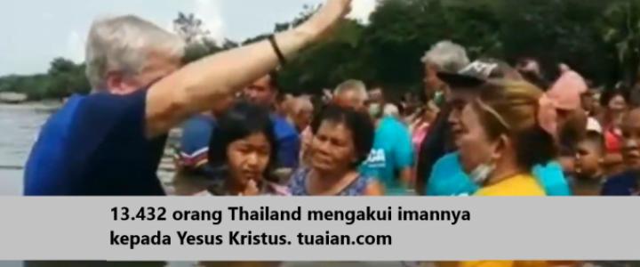 Baptisan di Thailand